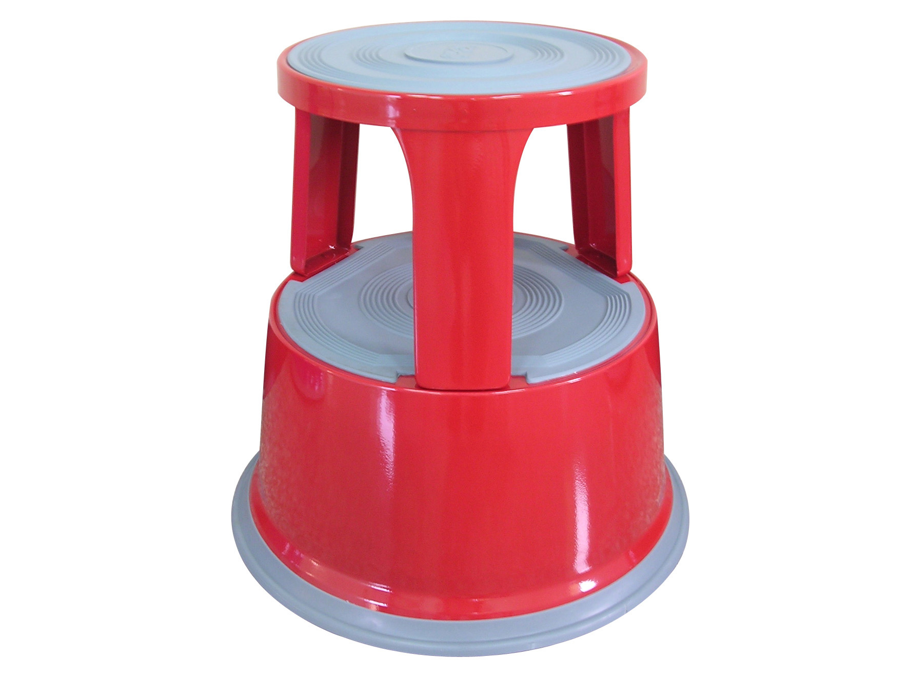 Metal Step Stool Red Q Connect